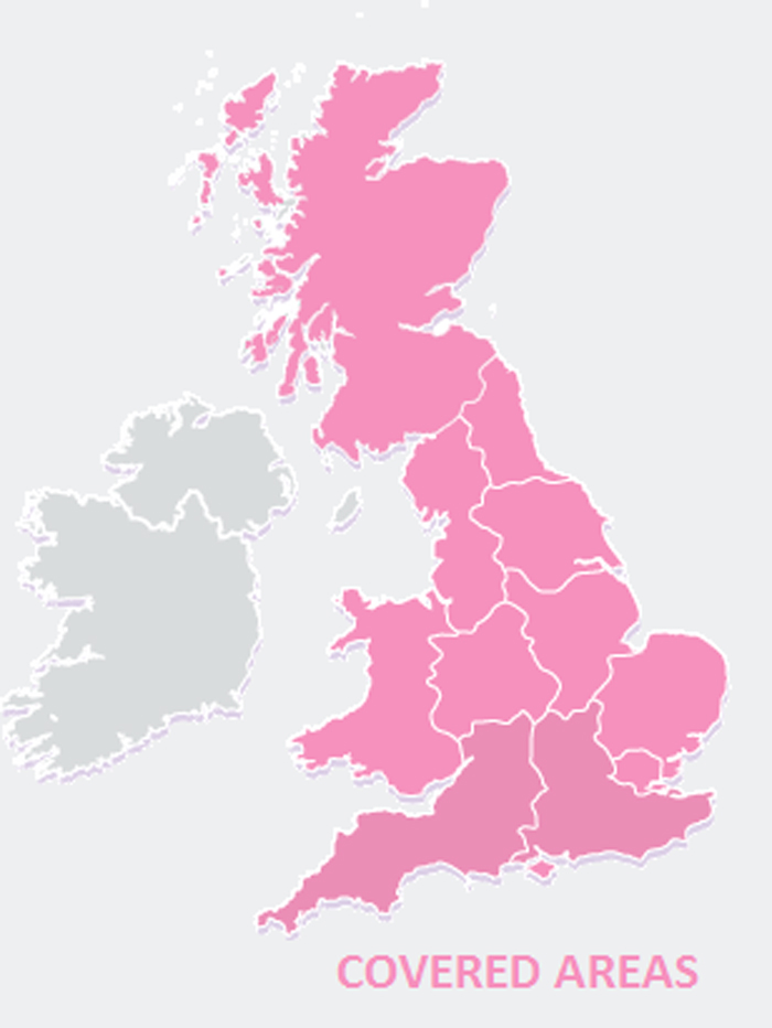 Uk Covered Areas