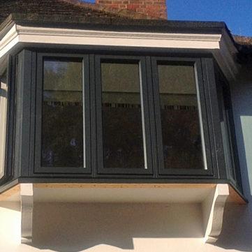 Bay window triple glazed