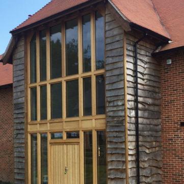 Bespoke Oak Entrance