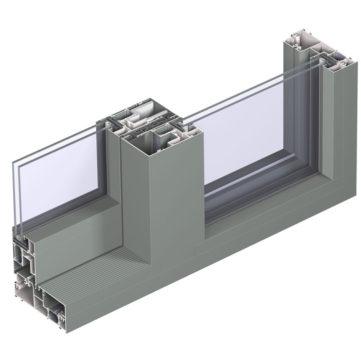 CP155 mono rail door