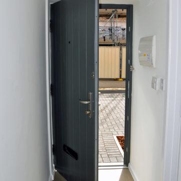 Contemporary door
