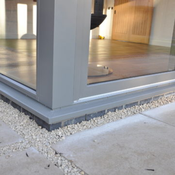 External sill and post cover
