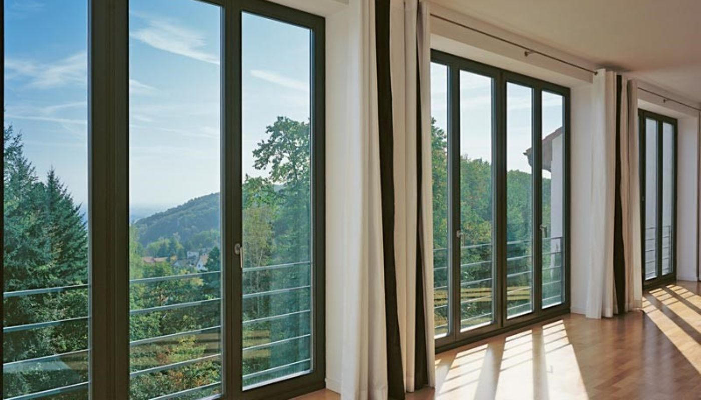 Masterline8 balcony doors