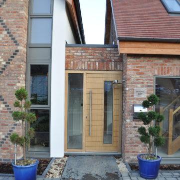 Oak Entrance door