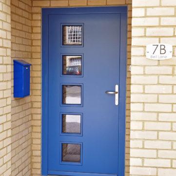 Timber Entrance door