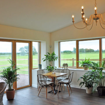 Triple glazed aluclad windows and doors